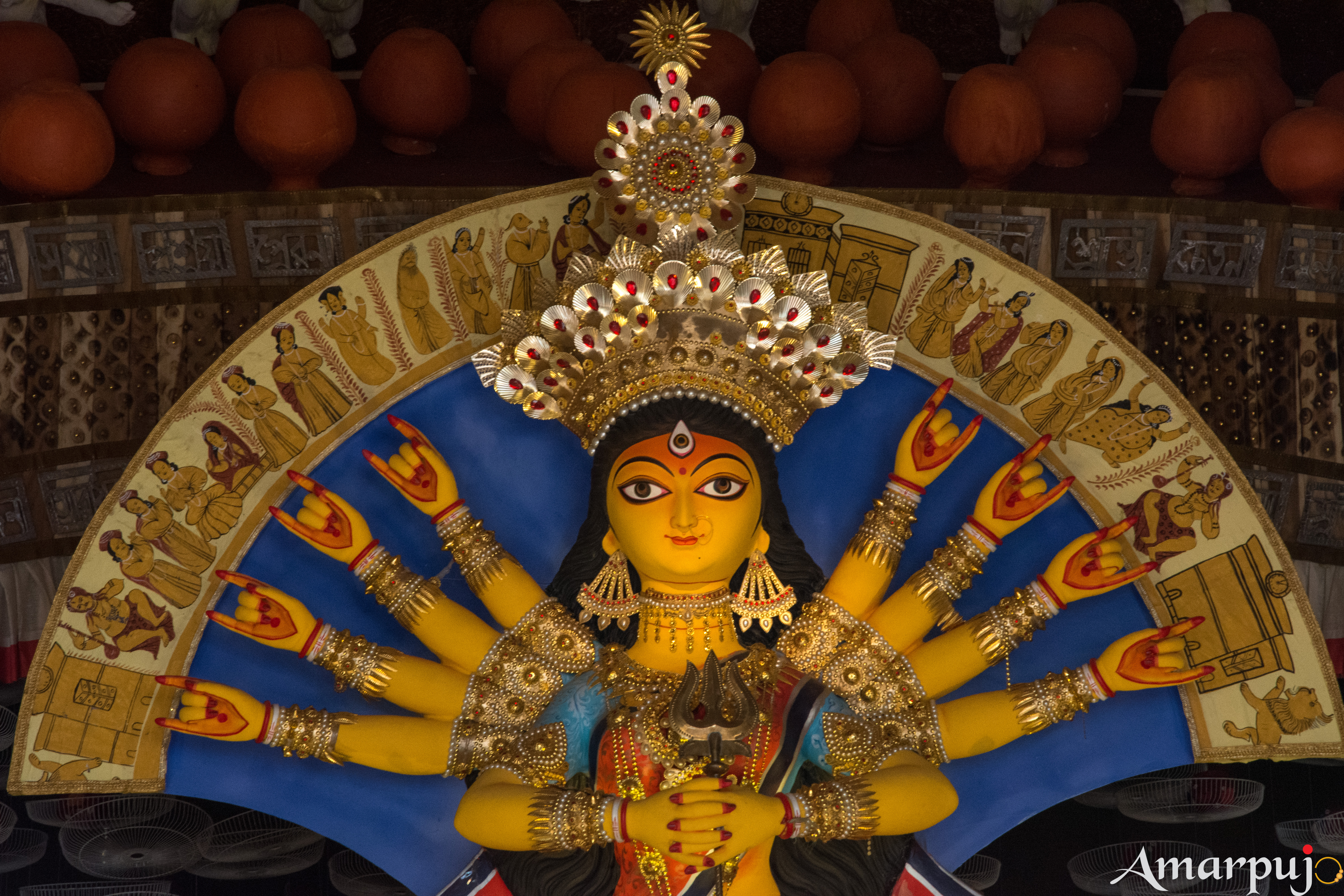 Durga Puja 2018 Best of South Kolkata - Amarpujo, Durga Puja Festival in Kolkata RSS Feed  IMAGES, GIF, ANIMATED GIF, WALLPAPER, STICKER FOR WHATSAPP & FACEBOOK